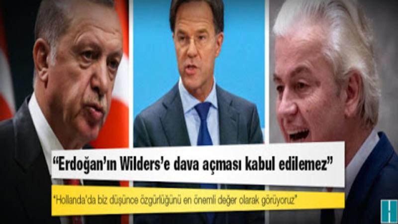 Hollanda Dışişleri Bakanı Stefan Block da Saban Gere ile temasa geçerek Türkiye'nin Lahey'deki büyükelçisinin cevabını iletti. Başbakan Rutte, gazetecilerin kendisine Parlamento'da Wilders aleyhindeki suç duyurusunu hatırlatmasının ardından Cumhurbaşkanı Erdoğan'a bir mektup göndermek istediğini söyledi.