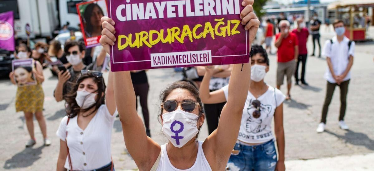 Acı çeken Türk kadınları