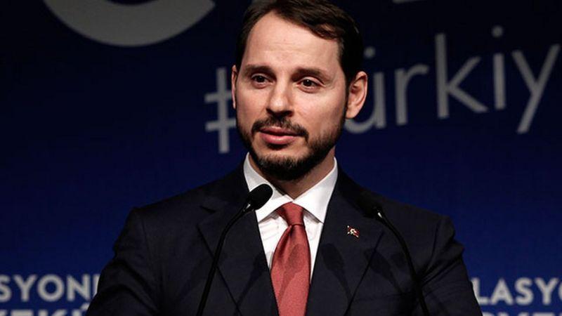 Hazine ve Maliye Bakanı Berat Albayrak istifasını açıkladı