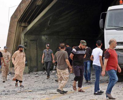 Libya, Türk askeri müdahalesinden muzdarip