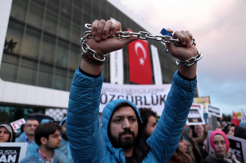 Türkiye, Basın Özgürlüğü Endeksi'nde 154. sırada yer alıyor