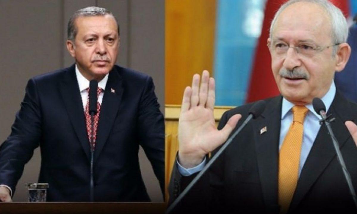 Kılıçdaroğlu'ndan Erdoğan'a: Size Cumhurbaşkanı demek yanlış!