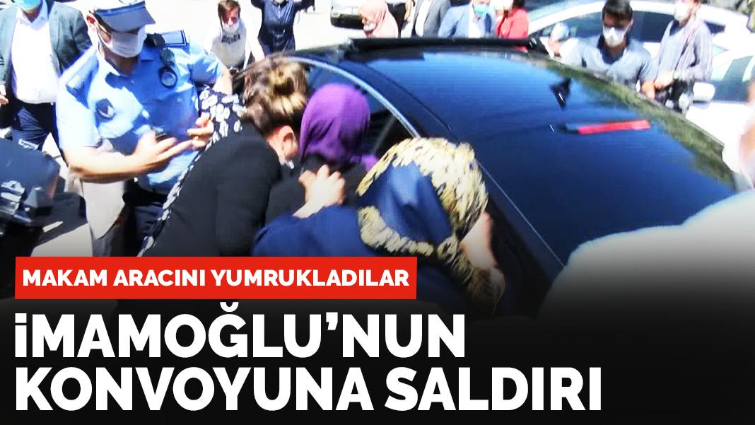 İstanbul belediye başkanının konvoyuna saldırı