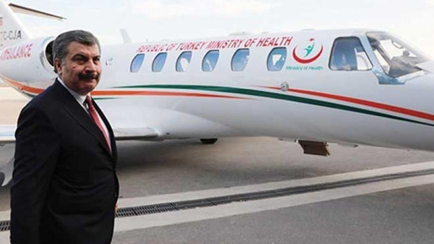 Sağlık Bakanlığı Katarlı bir şirketten 55 milyon liraya ambulans kiraladı