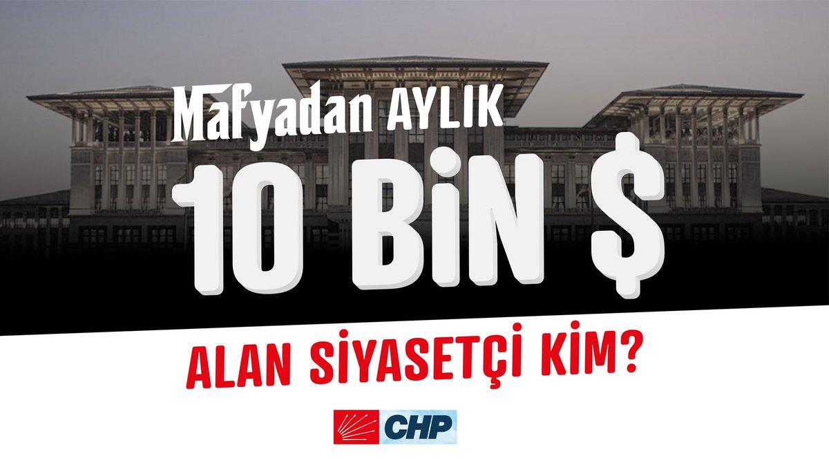 Mafyadan aylık 10.000 dolar kazanan siyasetçi kimdir?