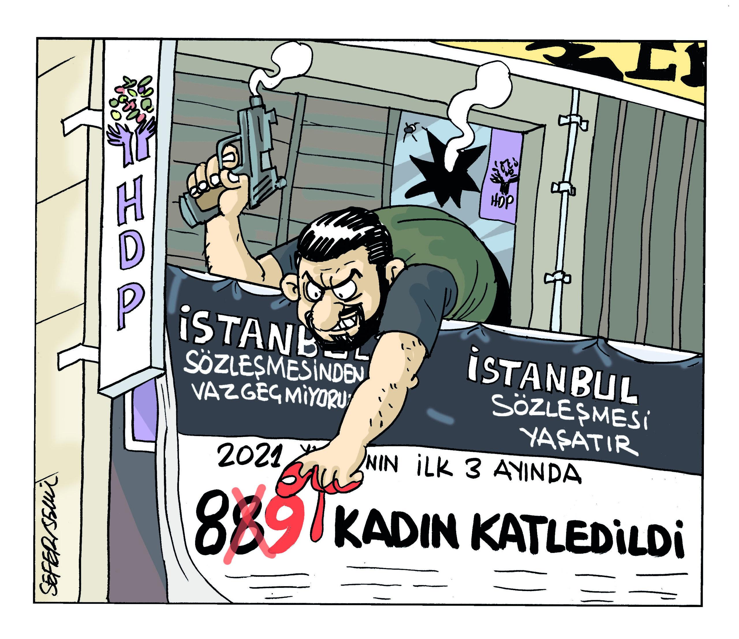 HDP İzmir il binasına saldırı
