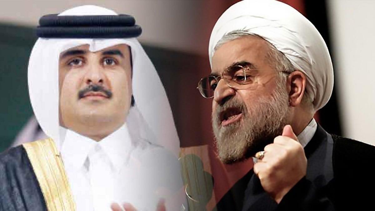 Katar Emiri geçen hafta gizlice Tahran'ı ziyaret etti