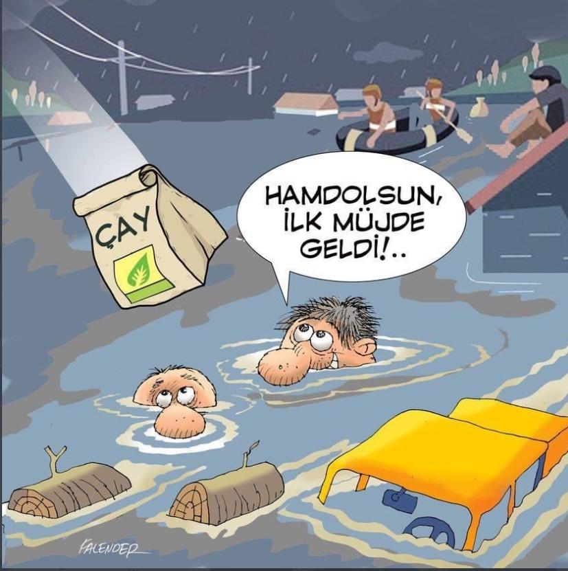 Erdoğan, Rize mağdurlarına 'çay' ile yardım eli uzattı