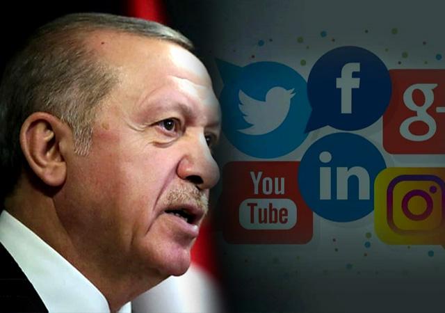 Erdoğan sosyal medyayı sansürlemeye hazırlanıyor