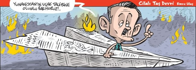 Türkiye yanıyor.. Erdoğan ve adamları Yunanistan'ı düşünüyor!
