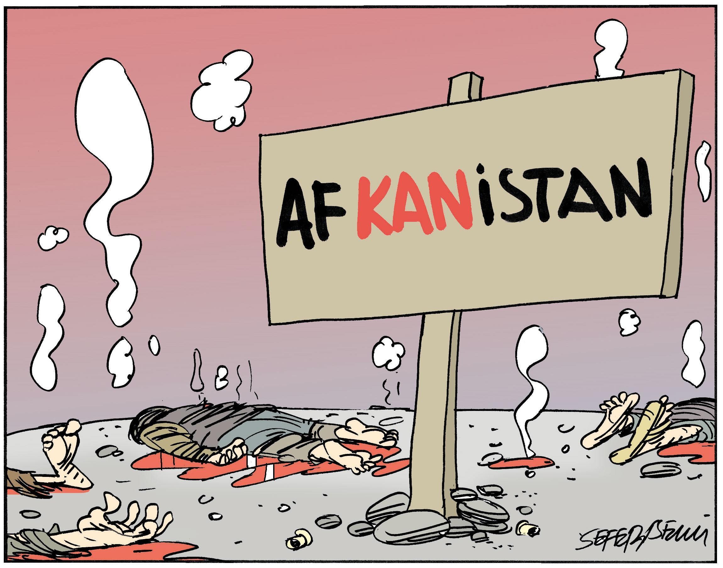 Afganistan kana bulandı!