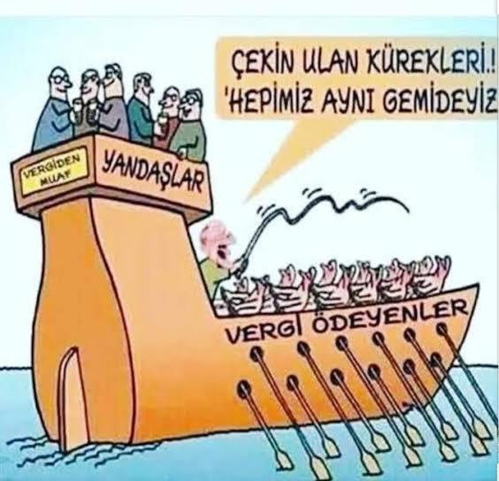 Hepimiz aynı gemideyiz.!