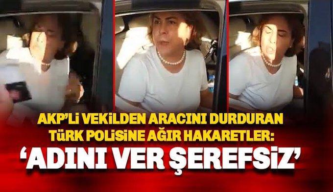 Erdoğan'ın partisi Türk polisine hakaret etti