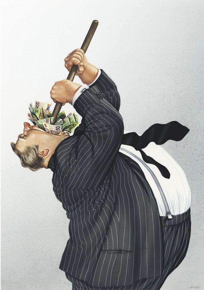 Kapitalist düzende ne bulursa yutar