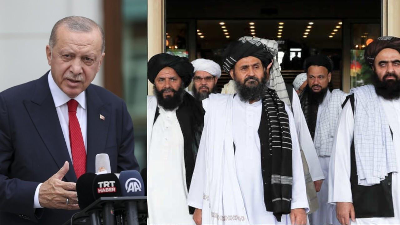 Erdoğan, Taliban ile görüştüğünü ortaya çıkardı!