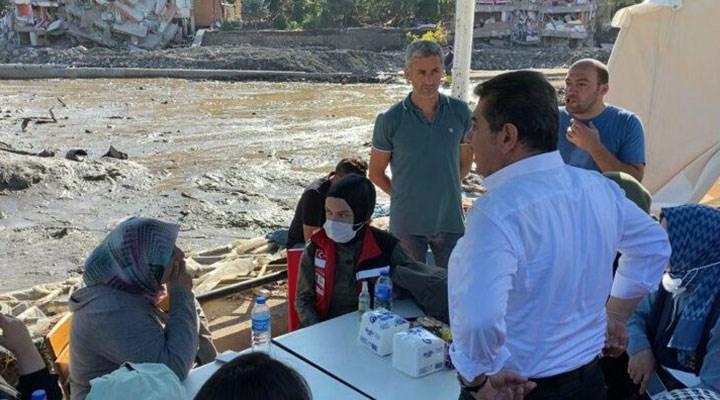 Bir vatandaştan AKP'li Tevfik Göksu'ya tepki: Hepiniz suçlusunuz