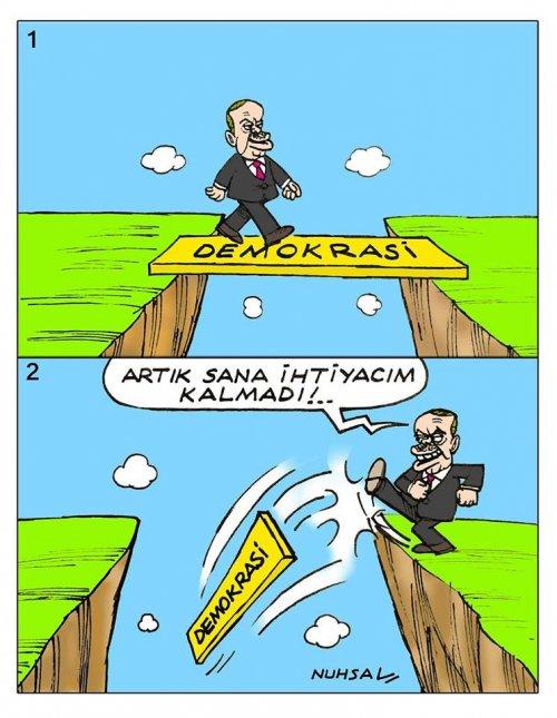Erdoğan döneminde kaybedilen demokrasi!