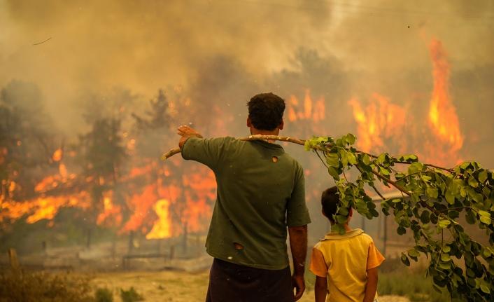 Türkiye'de yanan alanlar 8,9 kat arttı