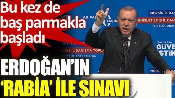 Erdoğan Rabia sloganından üçüncü kez vazgeçti!