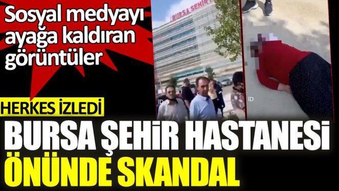 Bursa Şehir Hastanesinde akıl almaz olay !