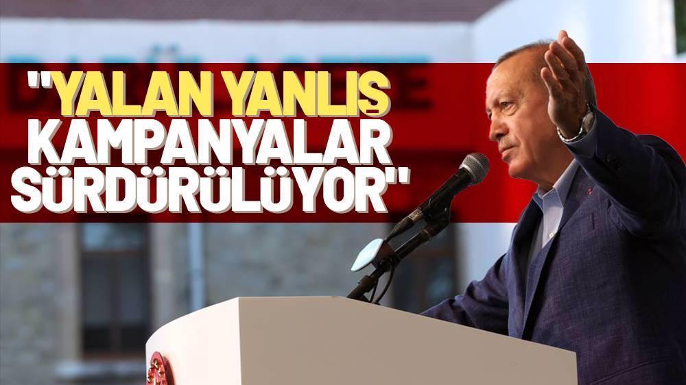 Erdoğan : Yalan söylüyorsunuz ve Hayatınız yalan!