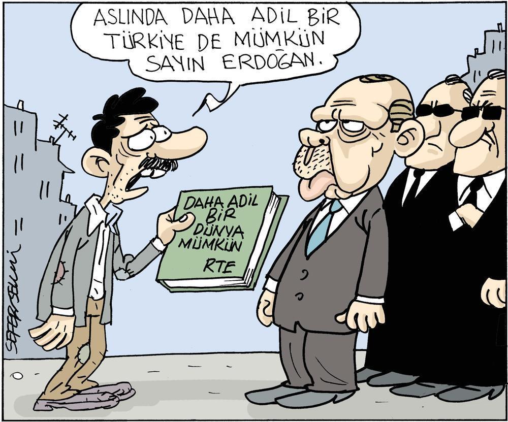 Erdoğan: Daha adil bir dünya mümkün !