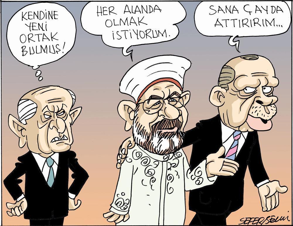 Erdoğan'ın yeni ekürisi Diyanet İşleri Başkanı Ali Erbaş