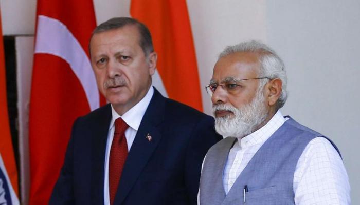 Erdoğan, Türkiye'nin Hindistan ile ilişkilerini bozdu