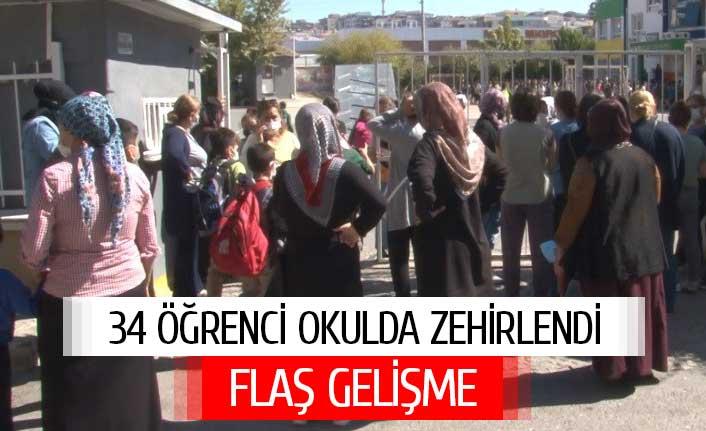 İzmir'de 34 öğrenci hastaneye kaldırıldı !