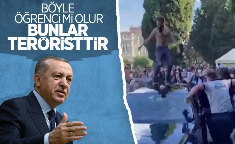Erdoğan, Boğaziçili öğrencileri terörist ilan etti!